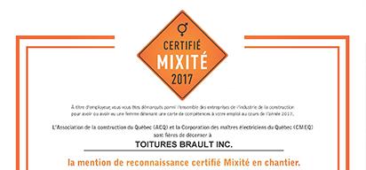2017 ACQ Inclusivity Certification